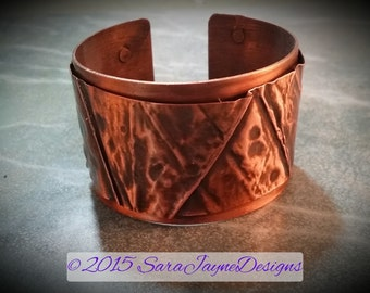 Form Folded Copper Cuff