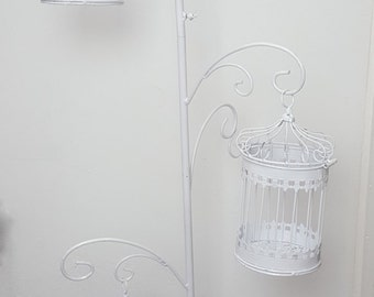 XXL Standing Birdcage stand with 3 Birdcages