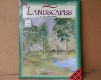 Landscapes  Book by Donna Dewberry Painting