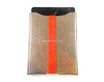 Leather iPad Case, iPad Air Cover, iPad Case Leather, iPad Air Sleeve, Leather Cover for iPad, Leather iPad Folio, Weaved Leather Folio.