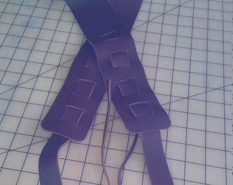 Guitar Straps, Leather guitar strap