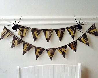 Halloween Spider Banner