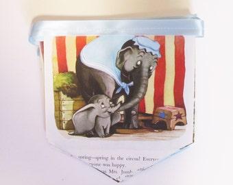 Disney's Dumbo - Little Golden Book Bunting Banner - Baby Shower Banner  - Book Party - Golden Book Shower
