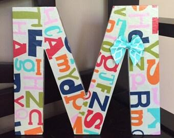Alphabet Decorative Letter
