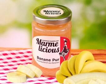 Banana pure fruit spread