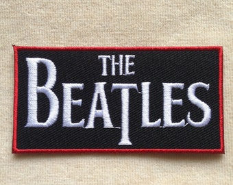 The Beatles Band Iron On Patch #2