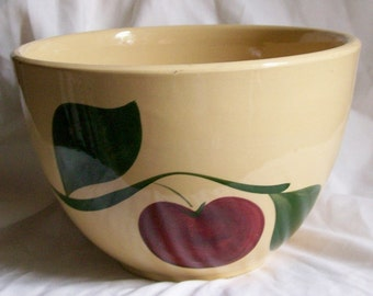 Watt Apple Pottery Etsy
