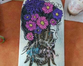 Flower Girl Skateboard