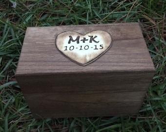 Rustic Recipe Box - Wedding Gift - Housewarming Gift - Christmas Gift