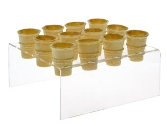 12 Slot Mini Ice Cream Cone Holder