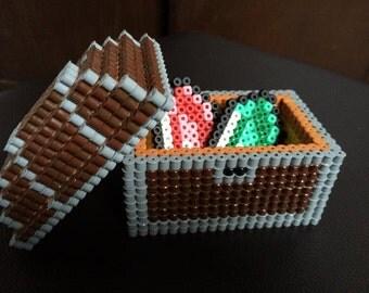 Perler Bead Storage Treasure Chest