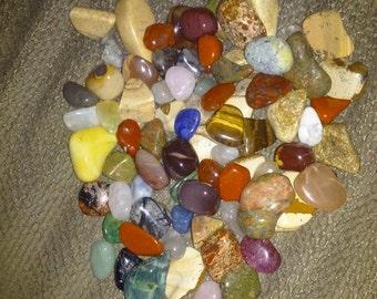 Half Pound  Tumbled Stones