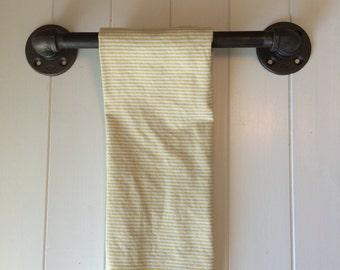 bath towel bar | etsy