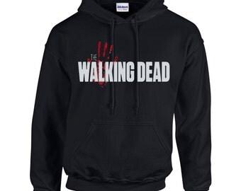 The Walking Dead Zombie inspired Hoody Hoody