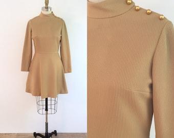 1960s Vintage Mod Scooter Dress | small/medium