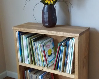 bookshelf, rustic bookshelf, wooden shelf, wood bookshelf, small bookshelf