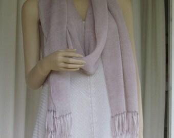 Lightweight Knitted 100% Linen Scarf