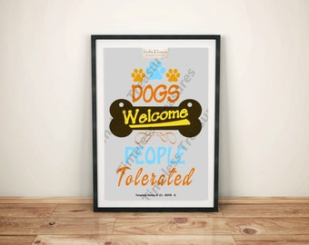 Extended Family (Pets) (C) - Dogs Welcome People Tolerated