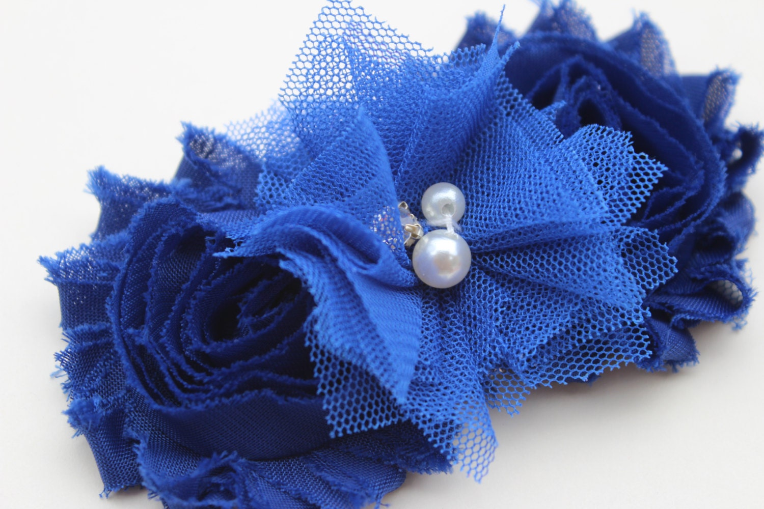 Royal blue hair bow flower girl hair clip royal blue flower girl royal blue hair bow flower girl hair clip royal blue flower girl bows royal blue wedding izmirmasajfo