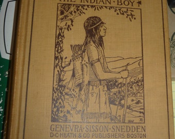 Docas the Indian Boy 1899 - Neat American Indian Book