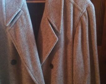 SALE PRICE:Jun Men's Topcoat by Yumiko Tamura