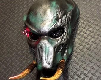 "Predator ""RAW"" TRACKER Bio Helmet Prop Mask Replica Bust Statue1:1 Scale"