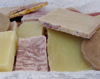 Pick 3 Handmade Sample Soaps