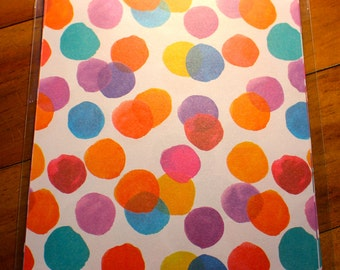 The PaperMill Specialty Paper ~ Watercolour Polka