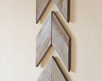 Wooden Chevron Set