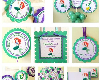Ariel Complete Party Package