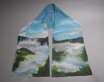 Blue Lake Scarf