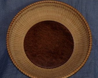 "Nantucket Lightship 15""  Round Tray"