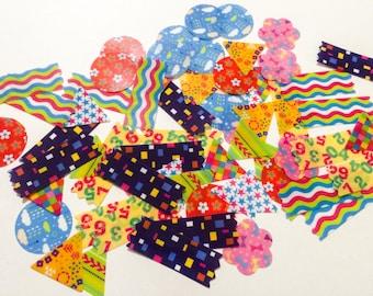 Fun Flake Stickers - 80 Pieces