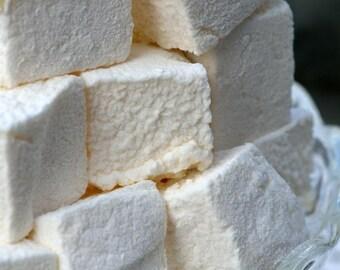 Marshmallow - Vanilla Bean Marshmallow - 12 Pieces Per Bag.