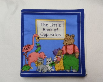 Little Book of Opposites Cloth Book