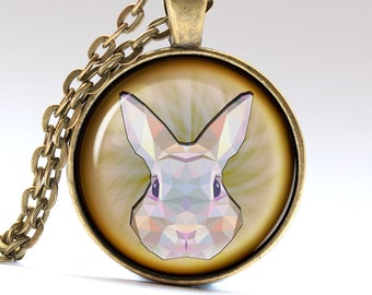 Bunny Pendant Rabbit Jewelry Hare Necklace Bunny Necklace Bunny Jewelry Rabbit Necklace Rabbit Pendant Hare Pendant  LG011