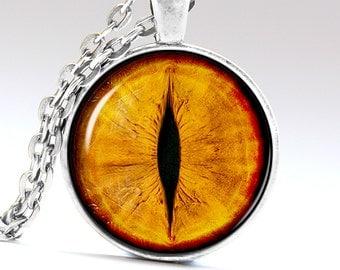 Smaug eye jewelry Tiger eye Necklace Lion eye Pendant Smaug Necklace Smaug Jewelry Tiger Pendant Tiger Jewelry LG152