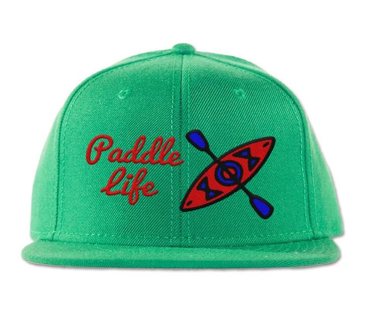Kayaking Hat - Paddle Life - Kayak Snapback Cap