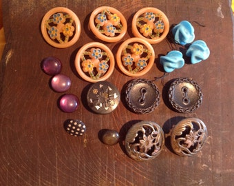 Old French buttons