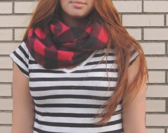 infinity fleece scarves