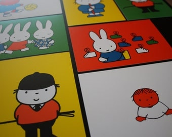 Miffy-Dick Bruna post cards/postcards
