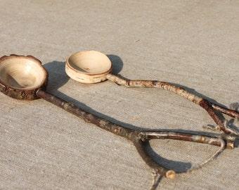 unusual gift tablespoon wooden measuring spoons сoffee scoop  tea or coffee measuring scoop wood slice slices most sold top selling items