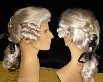 Silver-White Men Wig Cavaliere - wig04