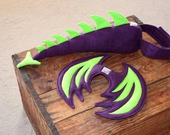 Dragon Tail Dragon Wings Kids Costume