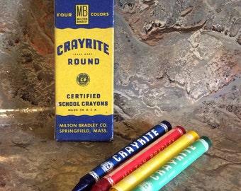Vintage NOS MB Crayrite
