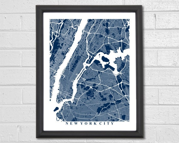 Custom City Map Art Choose Any City in the World Travel