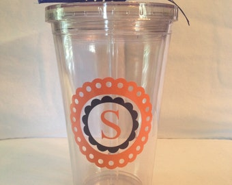 Personalized Acrylic Tumbler- 16 oz.