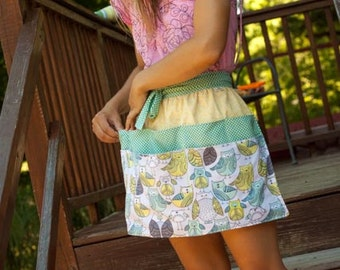 Ringling half apron fully lined, made to order