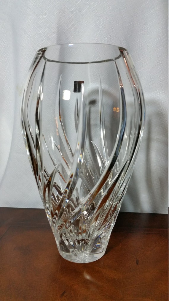 Waterford Marquis Wyndmere Leaded Crystal Vase Made In Poland