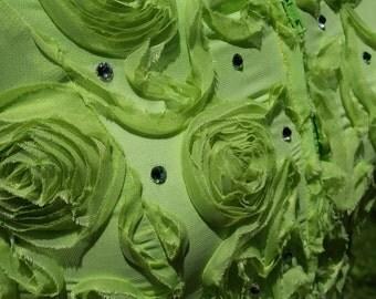 Girl's Green Apple Horse Show vest